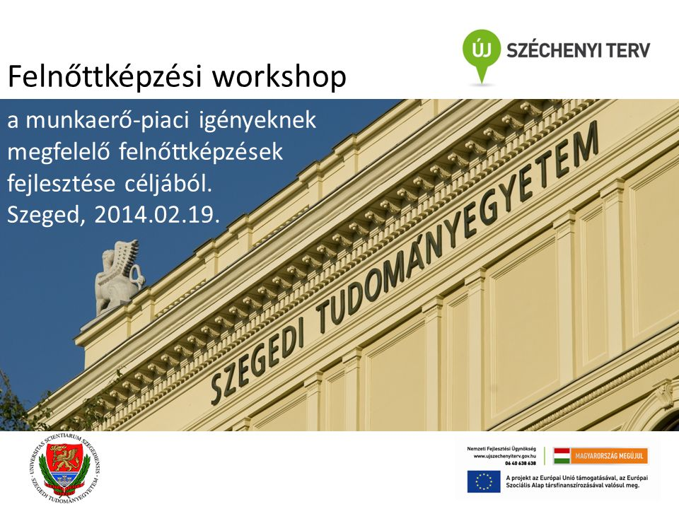 Felnőttképzési workshop