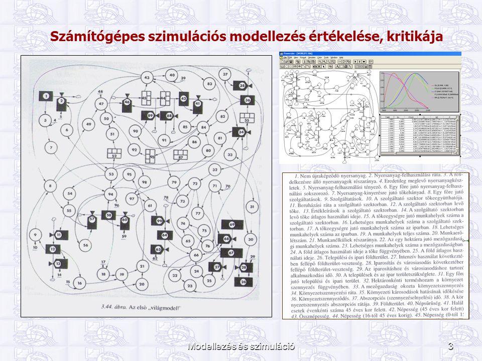 Számítógépes szimulációs modellezés értékelése, kritikája