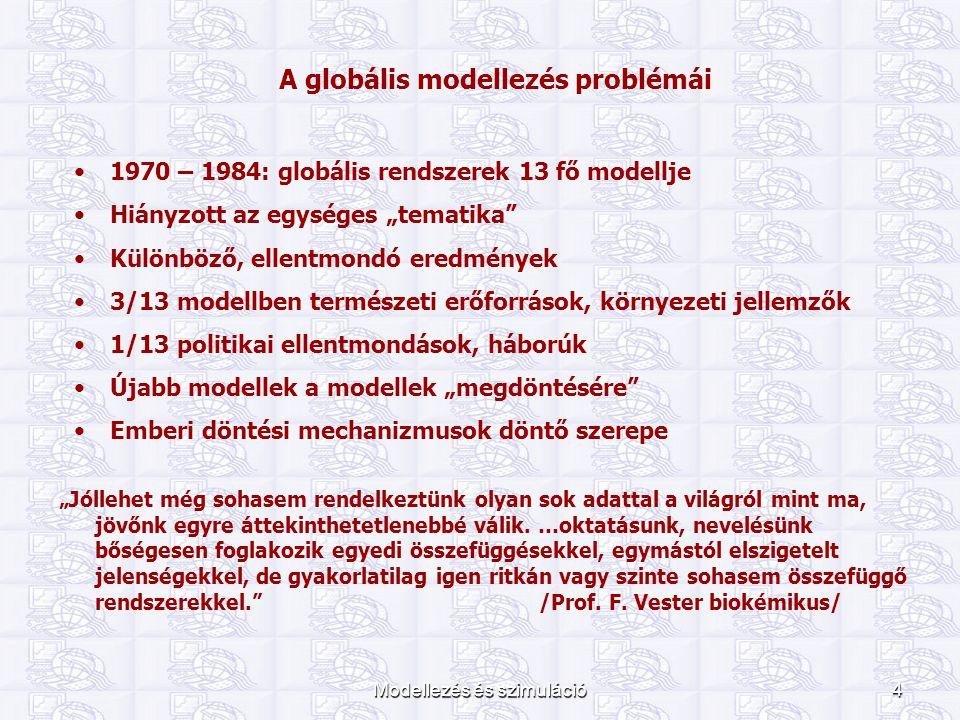 A globális modellezés problémái