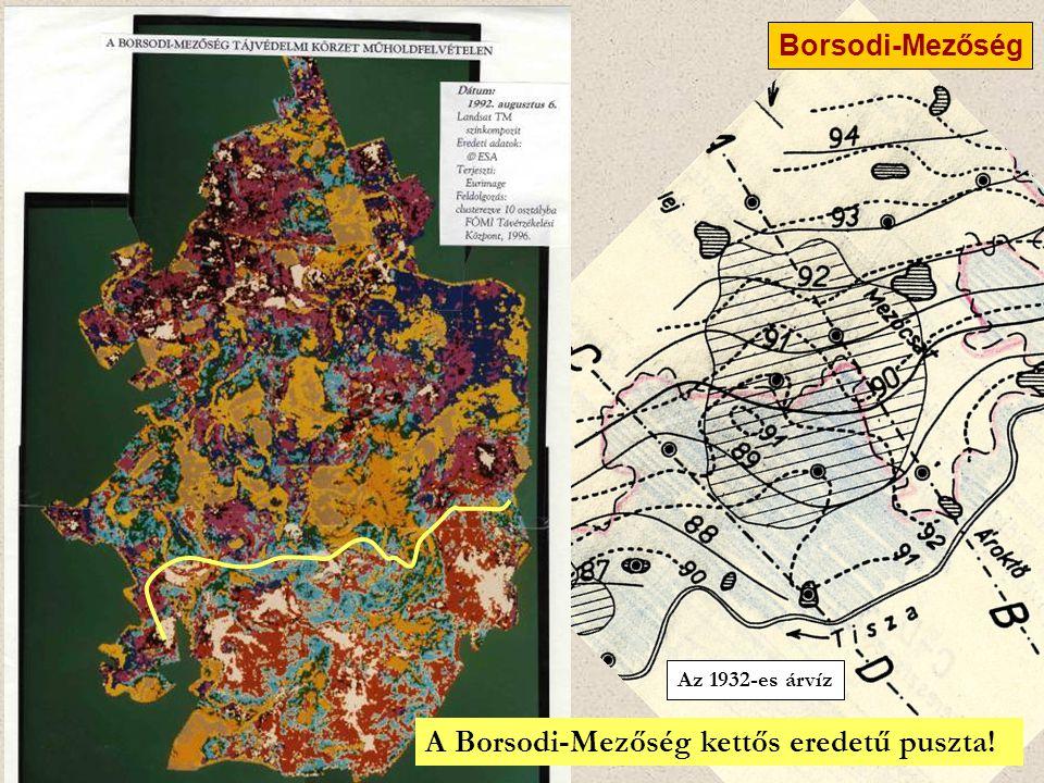 A Borsodi-Mezőség kettős eredetű puszta!
