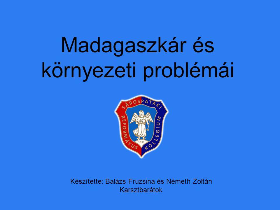 Madagaszkár és környezeti problémái