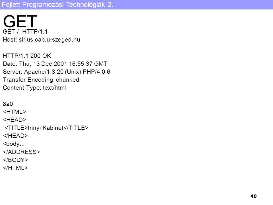 GET GET / HTTP/1.1 Host: sirius.cab.u-szeged.hu HTTP/1.1 200 OK
