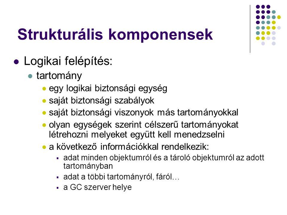 Strukturális komponensek