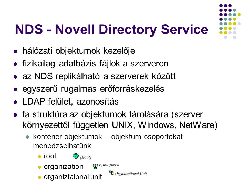 NDS - Novell Directory Service