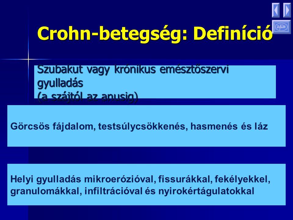 Crohn-betegség: Definíció