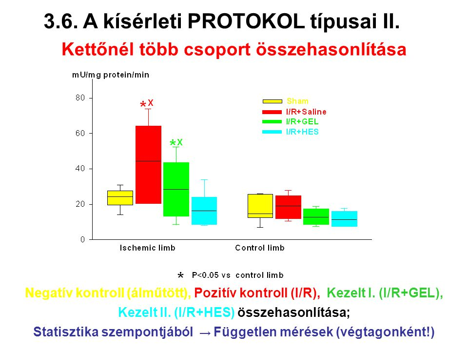 3.6. A kísérleti PROTOKOL típusai II.