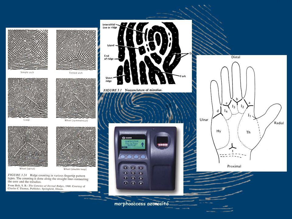 morphoaccess azonosító