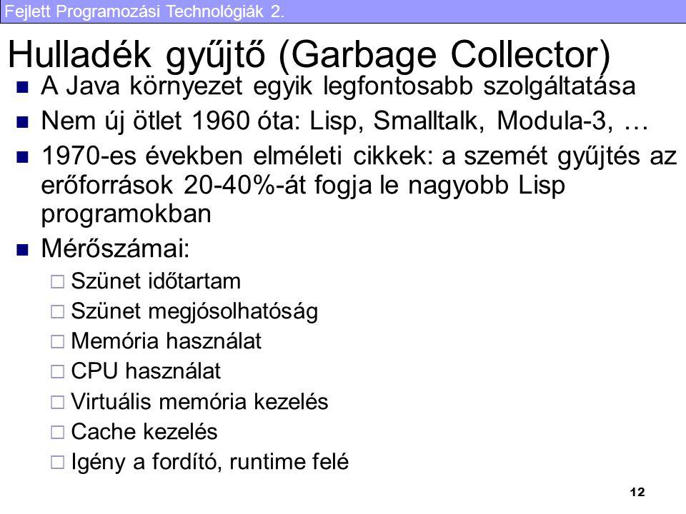 Hulladék gyűjtő (Garbage Collector)