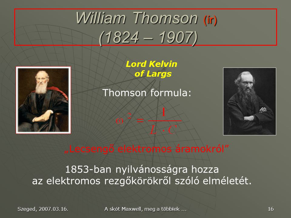 William Thomson (ír) (1824 – 1907)