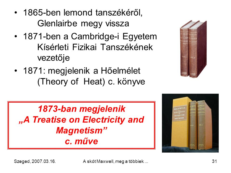 """A Treatise on Electricity and Magnetism"