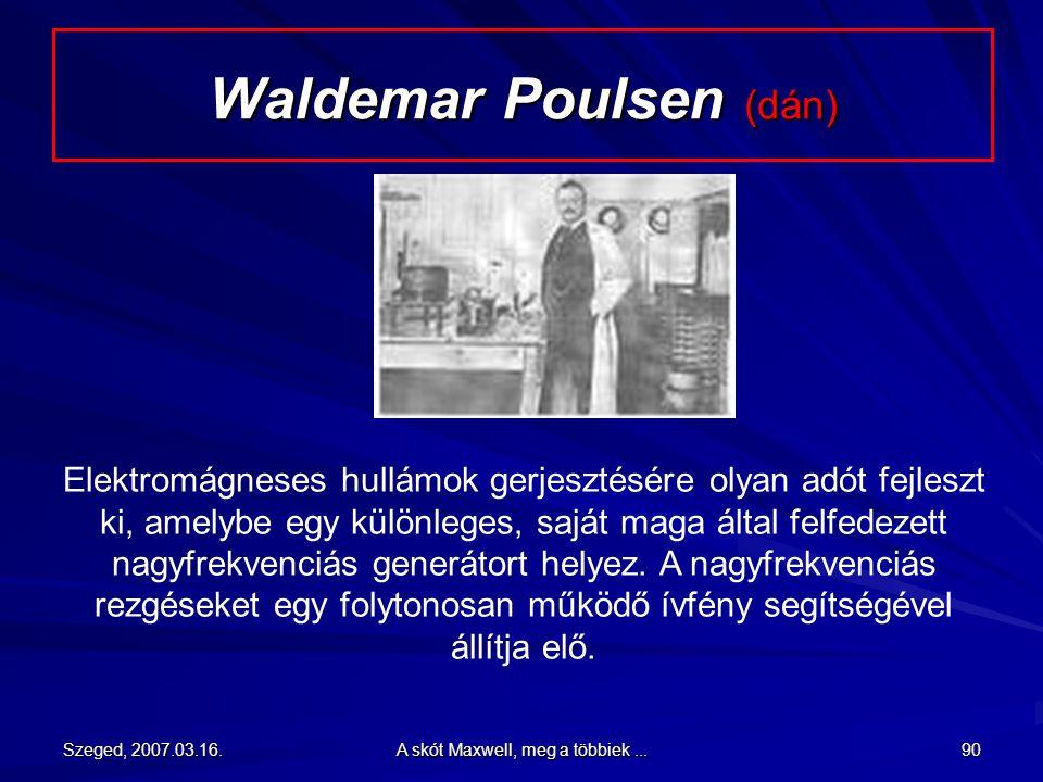 Waldemar Poulsen (dán)