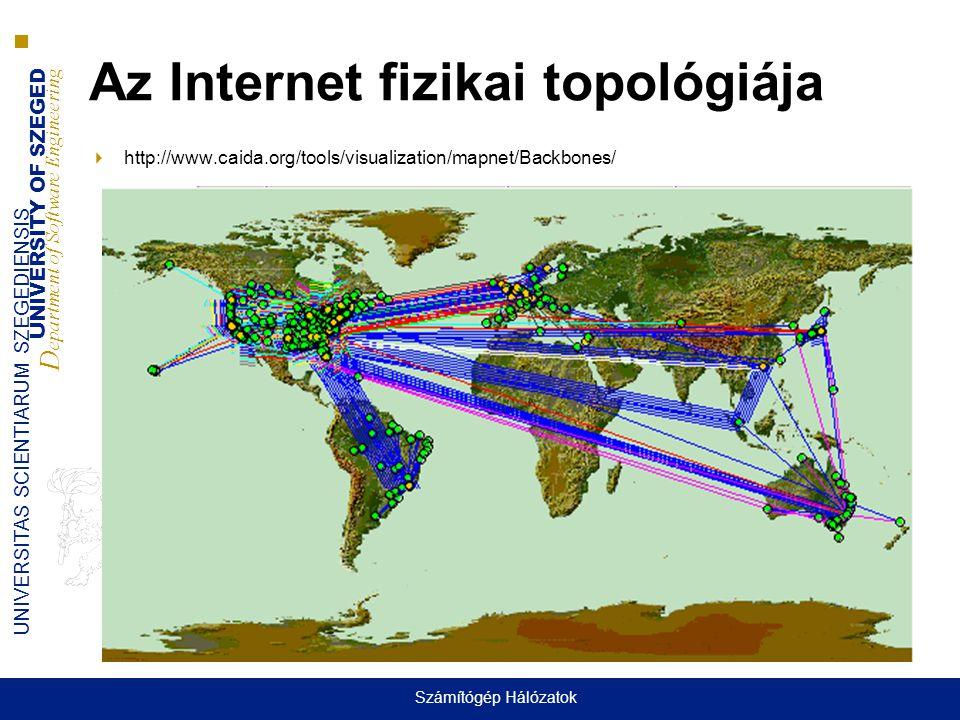 Az Internet fizikai topológiája