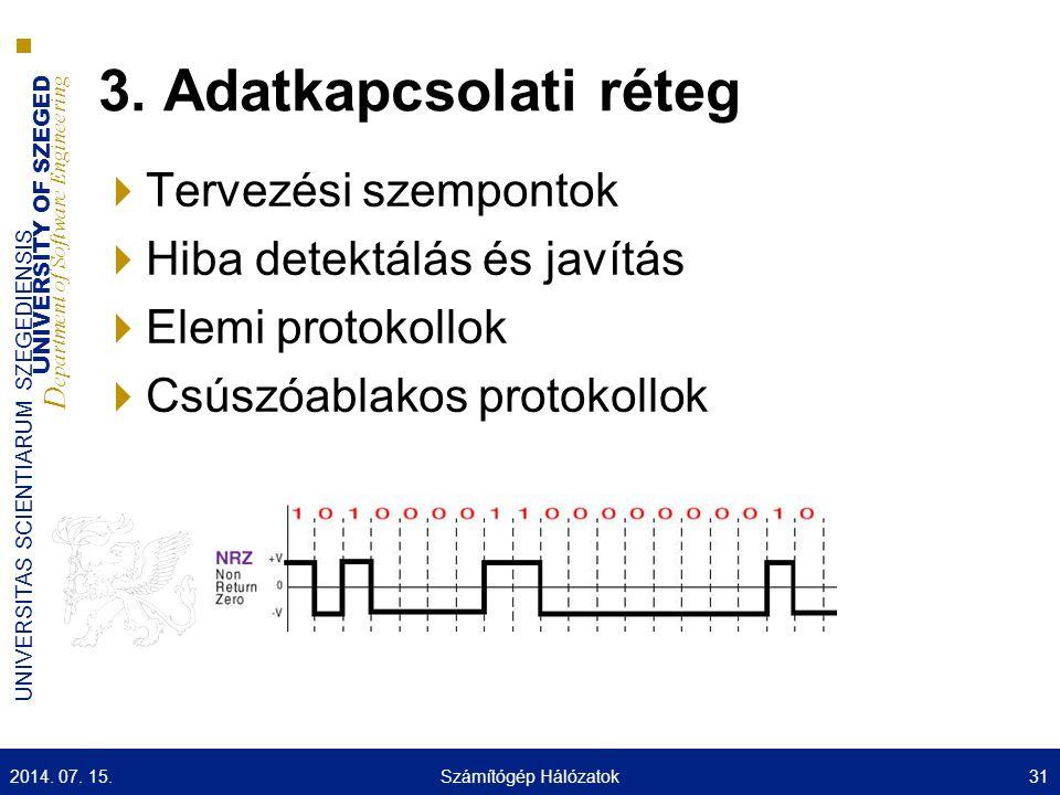 3. Adatkapcsolati réteg Tervezési szempontok