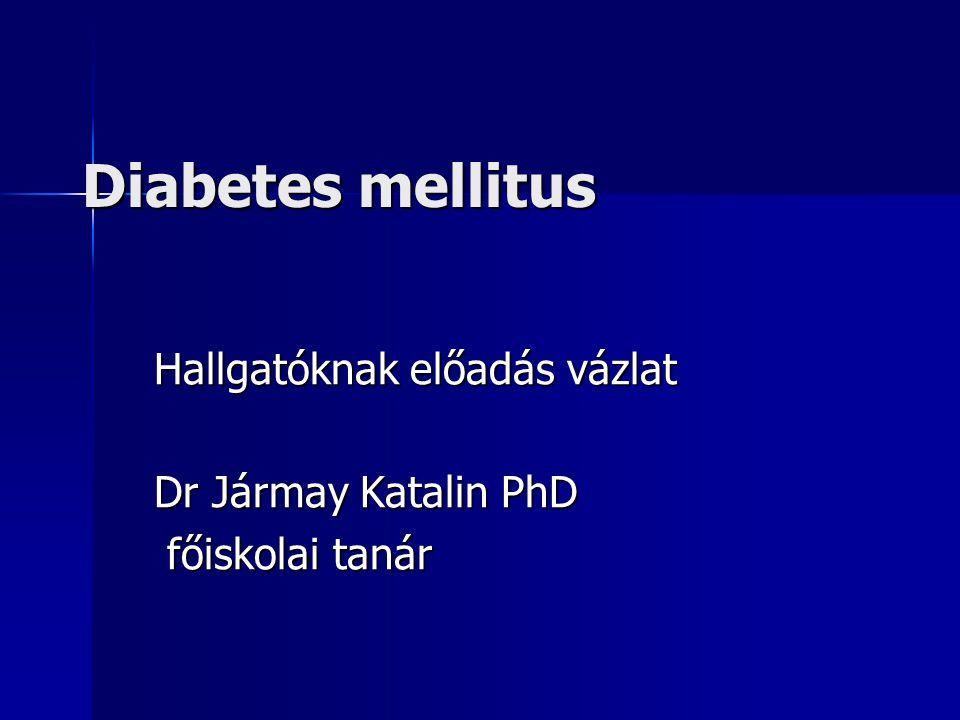Hallgatóknak előadás vázlat Dr Jármay Katalin PhD főiskolai tanár