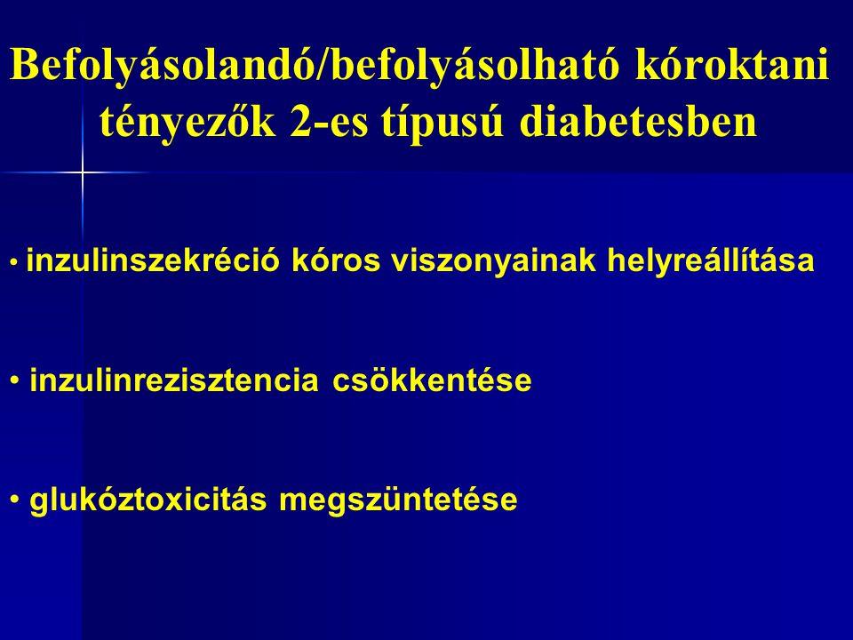 Befolyásolandó/befolyásolható kóroktani