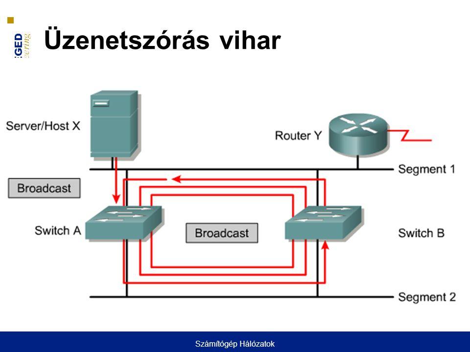 Üzenetszórás vihar Számítógép Hálózatok