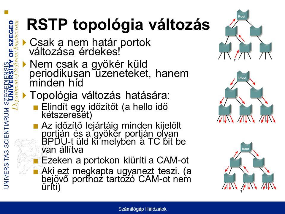 RSTP topológia változás