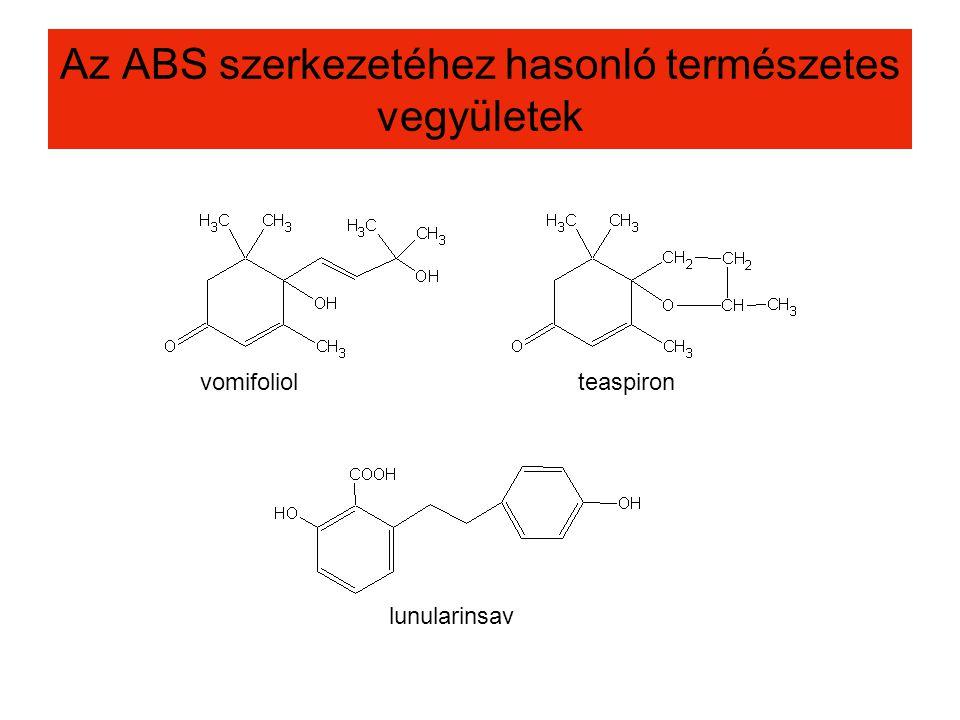 Az ABS szerkezetéhez hasonló természetes vegyületek
