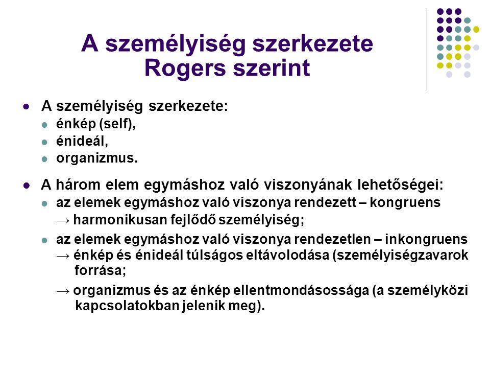 A személyiség szerkezete Rogers szerint