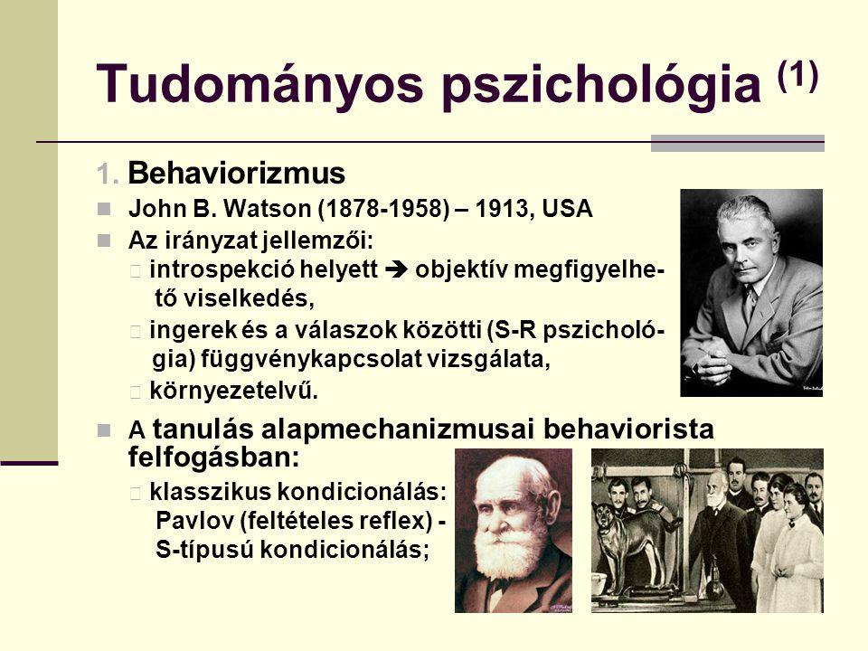 Tudományos pszichológia (1)