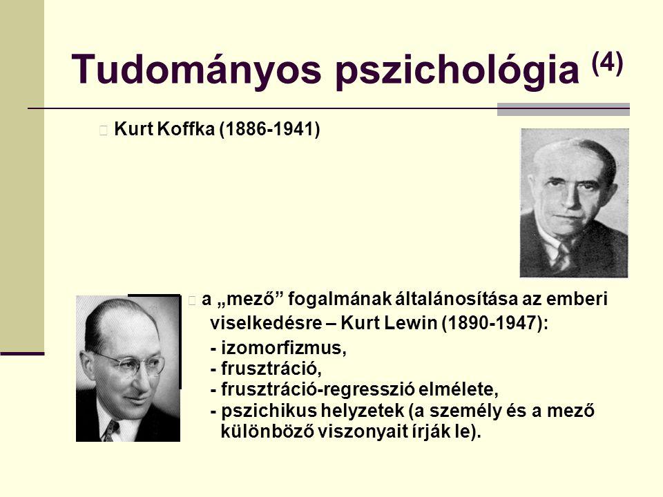 Tudományos pszichológia (4)