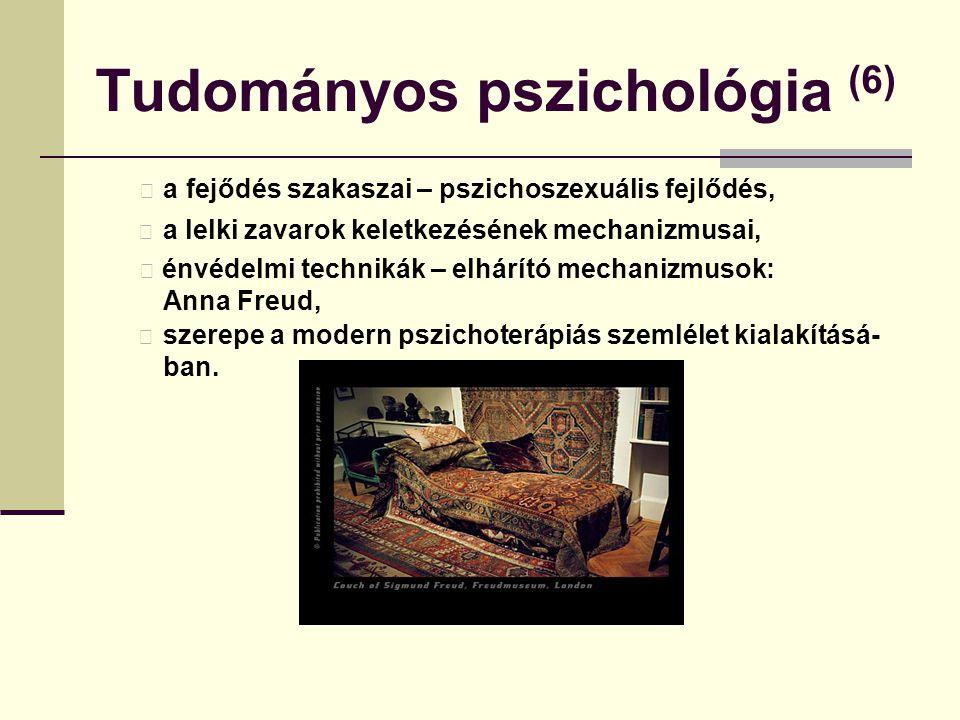 Tudományos pszichológia (6)