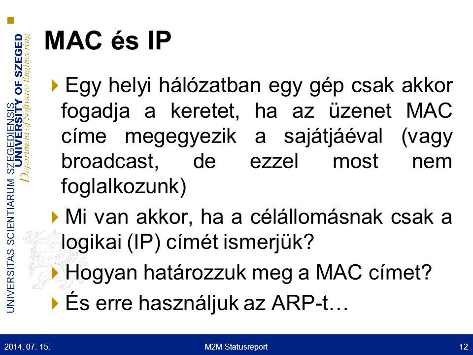 MAC és IP