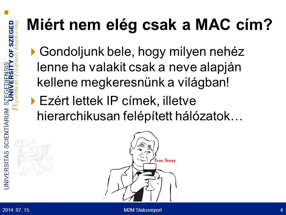 Miért nem elég csak a MAC cím
