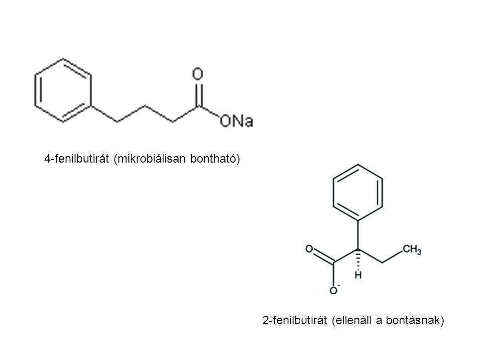 4-fenilbutirát (mikrobiálisan bontható)