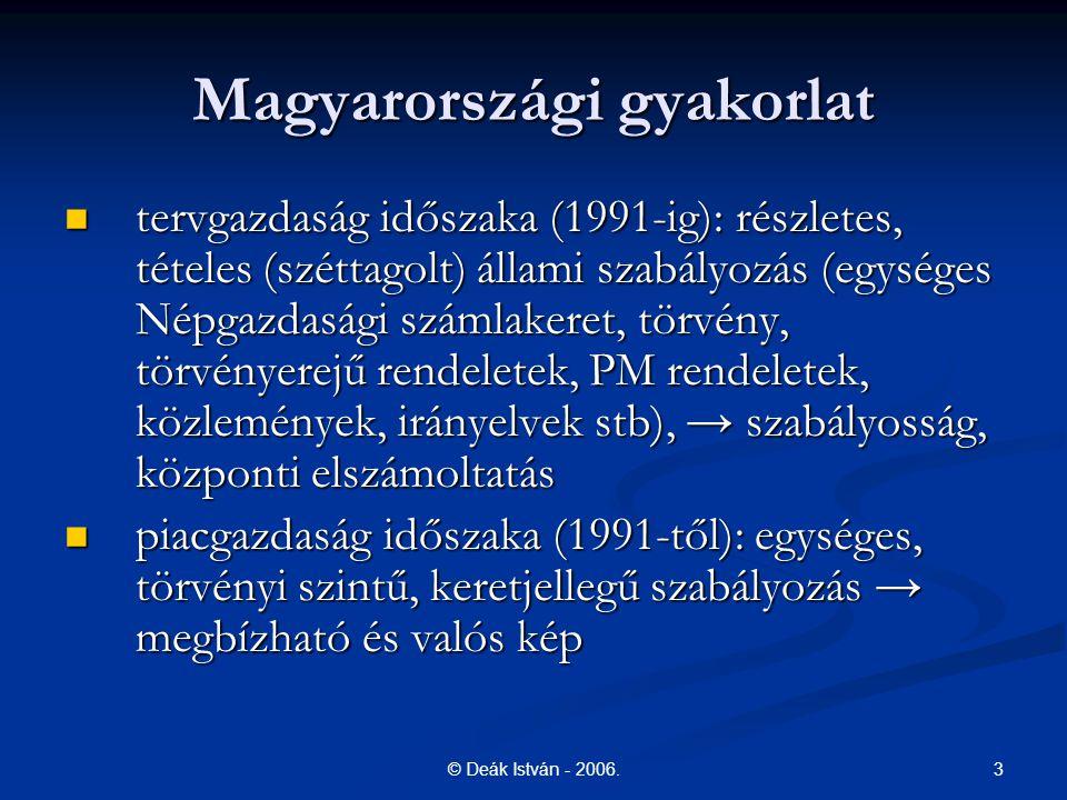Magyarországi gyakorlat