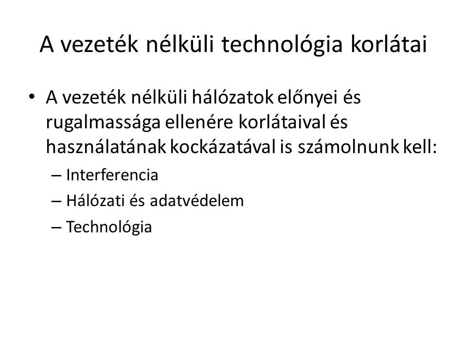 A vezeték nélküli technológia korlátai