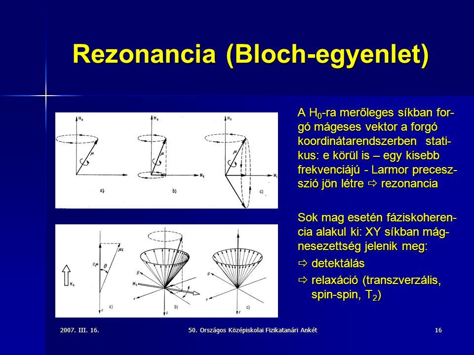 Rezonancia (Bloch-egyenlet)