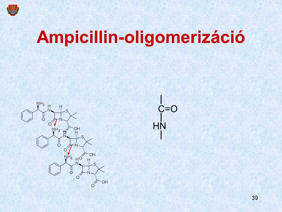 Ampicillin-oligomerizáció