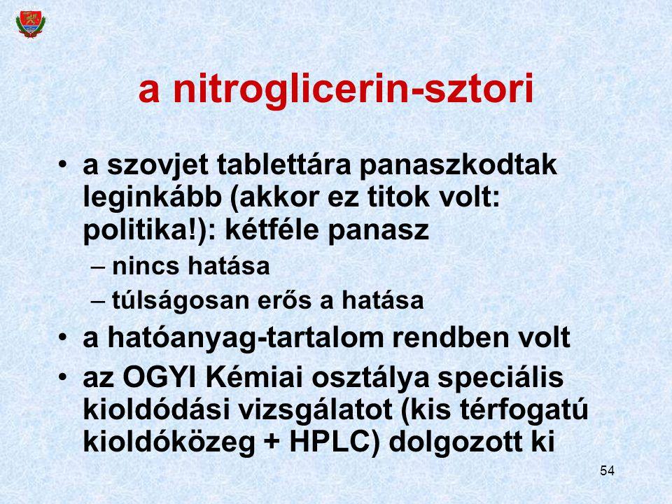 a nitroglicerin-sztori
