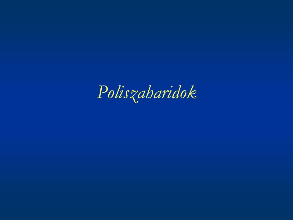 Poliszaharidok
