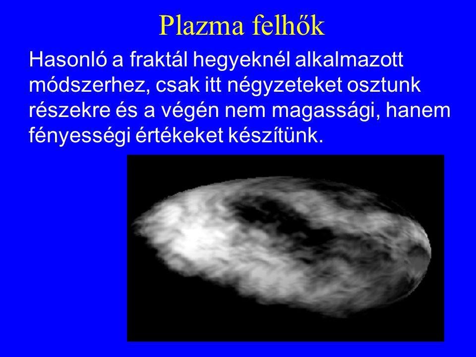 Plazma felhők