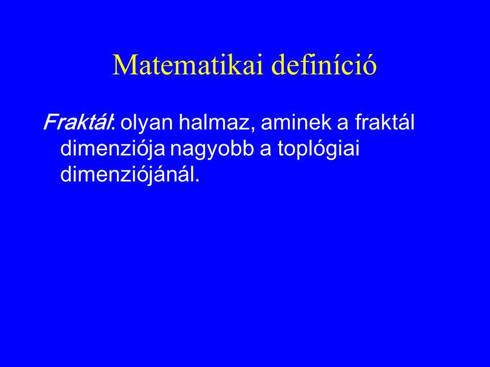Matematikai definíció