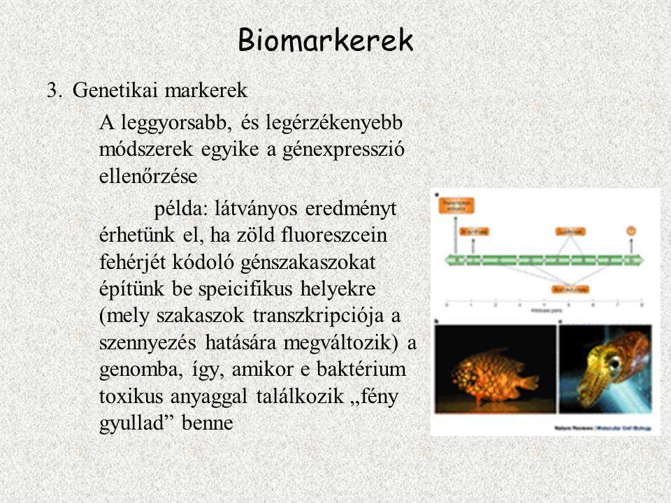 Biomarkerek Genetikai markerek