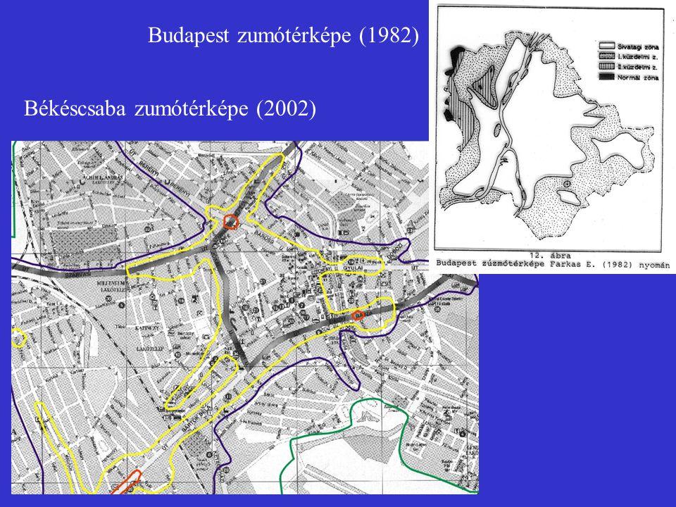 Budapest zumótérképe (1982)