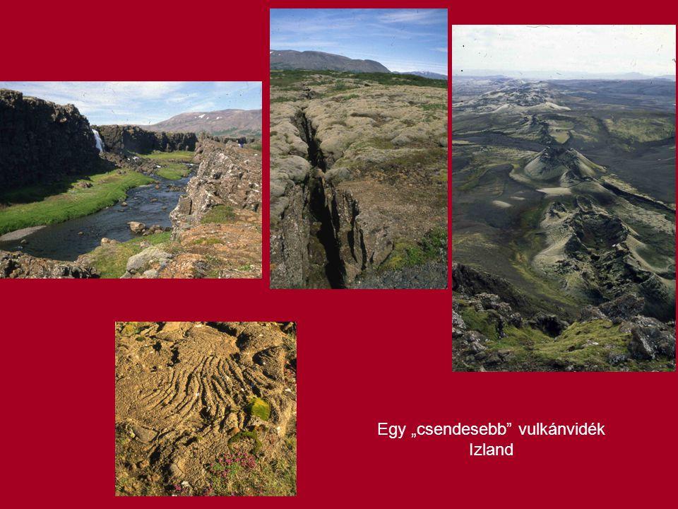 """Egy """"csendesebb vulkánvidék Izland"""