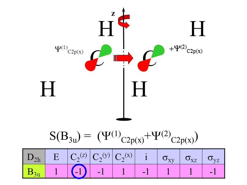 S(B3u) = (Y(1)C2p(x)+Y(2)C2p(x))
