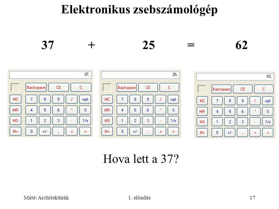 Elektronikus zsebszámológép
