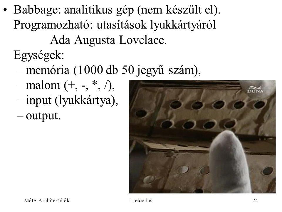 memória (1000 db 50 jegyű szám), malom (+, -, *, /),