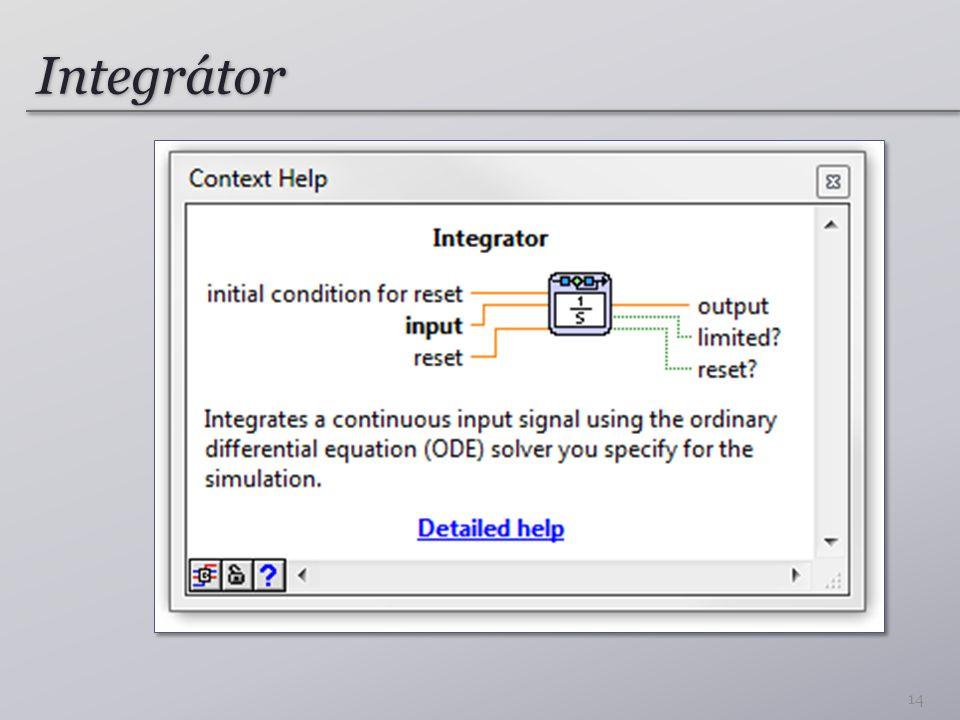 Integrátor