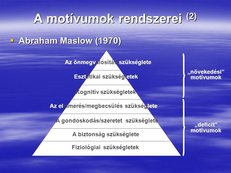 A motívumok rendszerei (2)