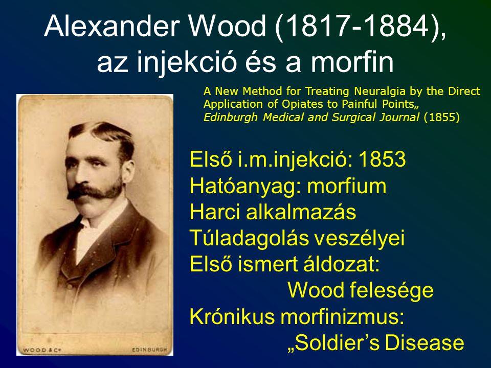 Alexander Wood (1817-1884), az injekció és a morfin