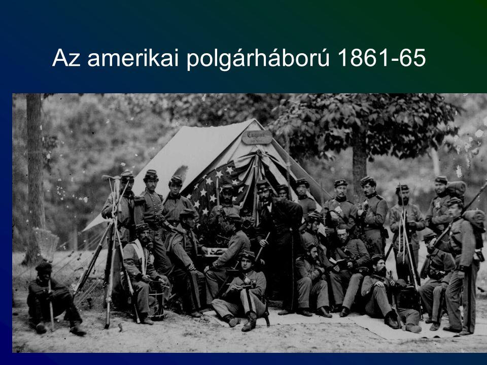 Az amerikai polgárháború 1861-65