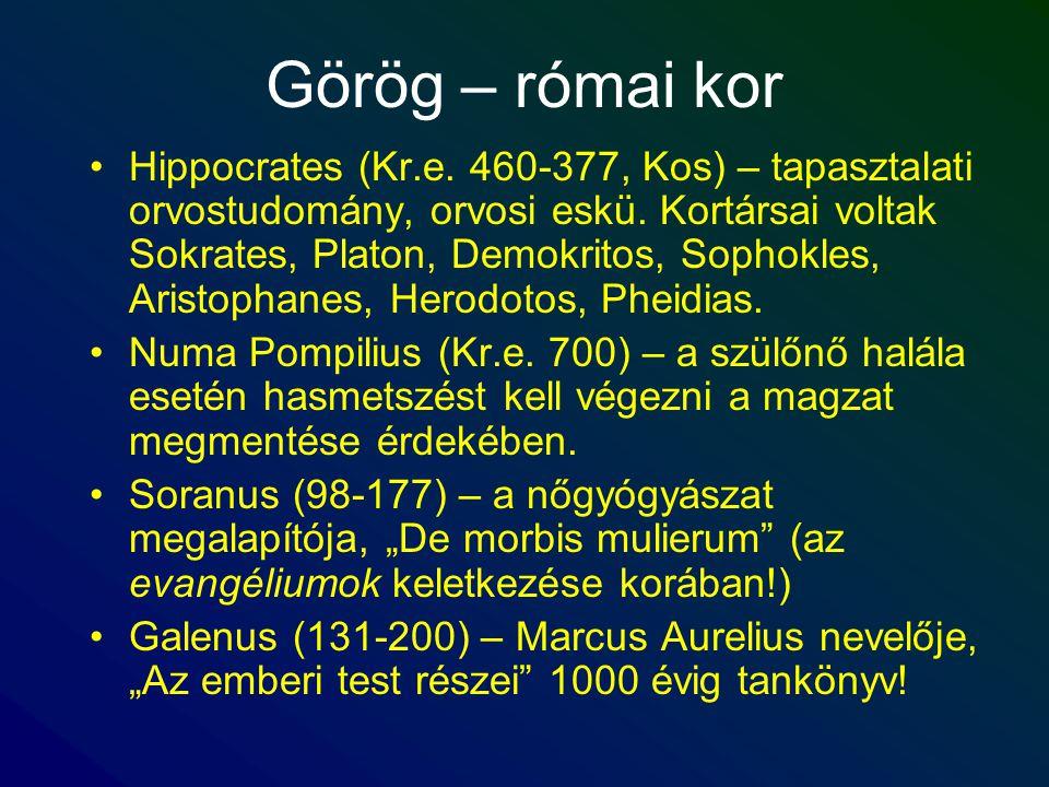 Görög – római kor