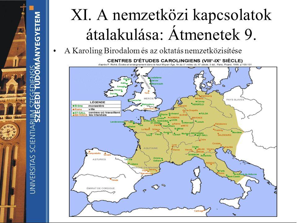 XI. A nemzetközi kapcsolatok átalakulása: Átmenetek 9.
