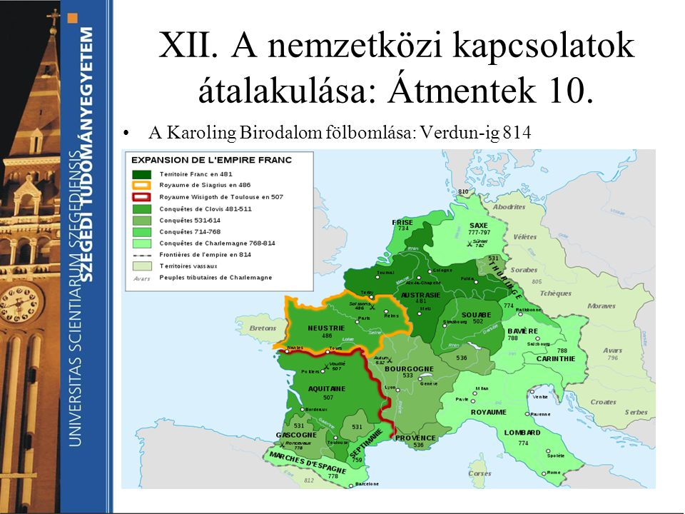 XII. A nemzetközi kapcsolatok átalakulása: Átmentek 10.